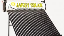 30'lu Vakum Tüplü güneş enerjisi